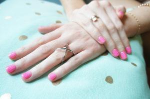 Nagellack Fingernagel