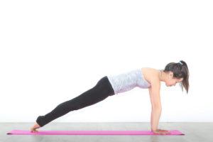 Sport auf der Yogamatte