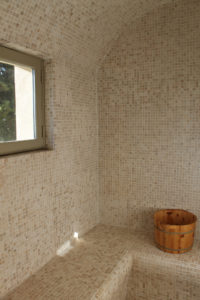 Sauna Raum
