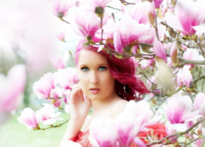 Sommerfarbe Orchidee