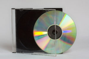 CD in der Hülle