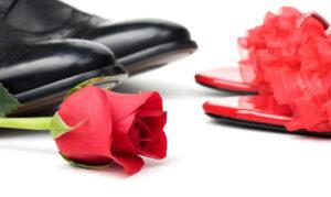 Valentintstagsschuhe für Männer