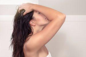 Kopfhautmassage