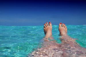 Entspannen Schwimmen
