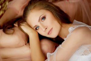Make Up für blaue Augen