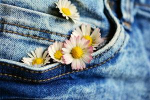 Die Jeanshose pflegen