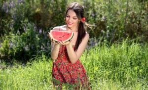 gesundes Essen im Sommer