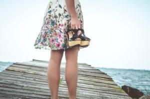 Beine im Sommer