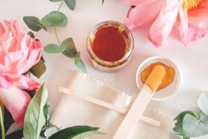 Honig für die Haut