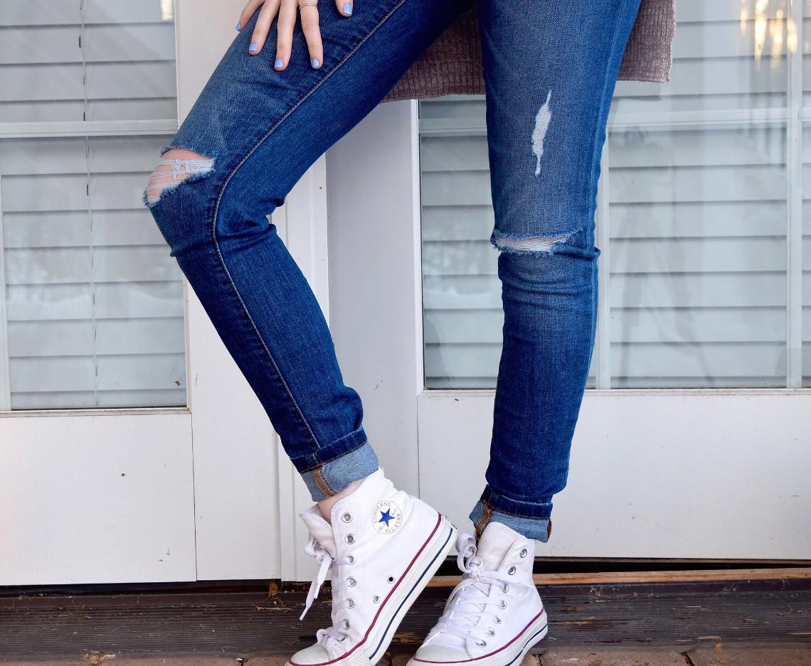 Wie man die Jeans pflegt