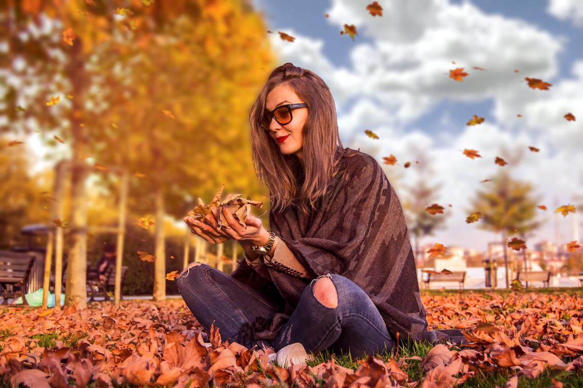 Kleidung für den Herbst