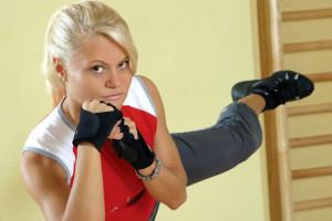 Boxen für Frauen als Fitness
