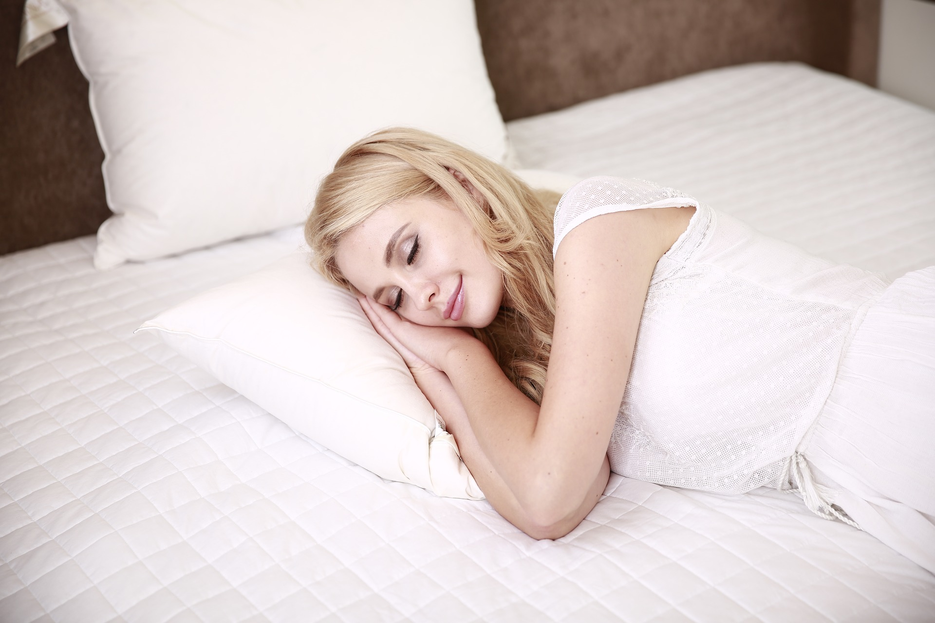 Frau im Schlaf